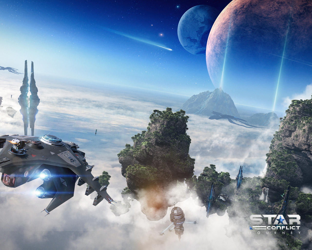 star conflict — mmo space action - wallpapers